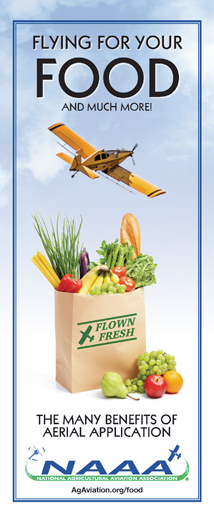 Click cover to view full Flying for Your Food brochure